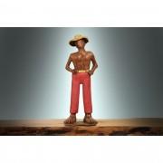 Escultura Homem do Pé Grande - Vermelho 36-12