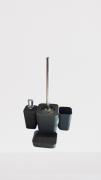 Kit Banheiro Ha-301 Cinza L1233c