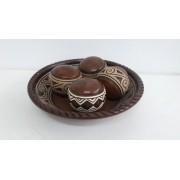 Kit Bolas Mistas de Cerâmica 5 Pçs 01-125