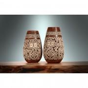 Kit Vaso Cerâmica Marajoara  TM