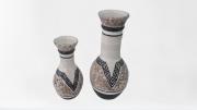 Kit Vaso de Cerâmica Longo C/2 Pçs 01-106