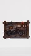 Quadro De Ferro Decorativo 40x60  X469