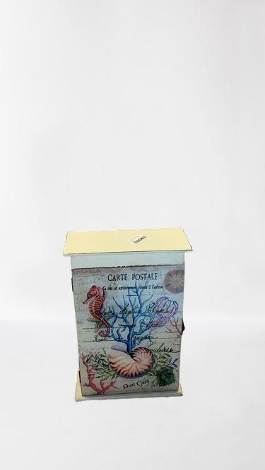 Caixa Decorativa Em Madeira 2132 D480