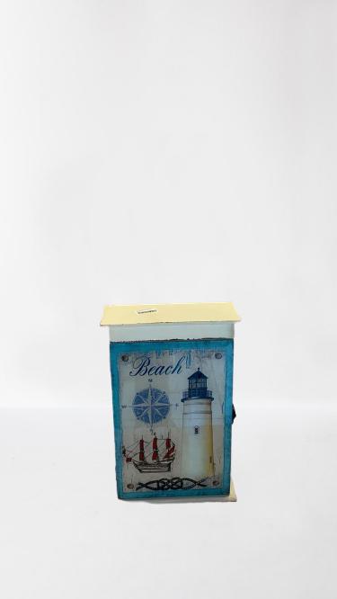 Caixa Decorativa Em Madeira  2135 D479