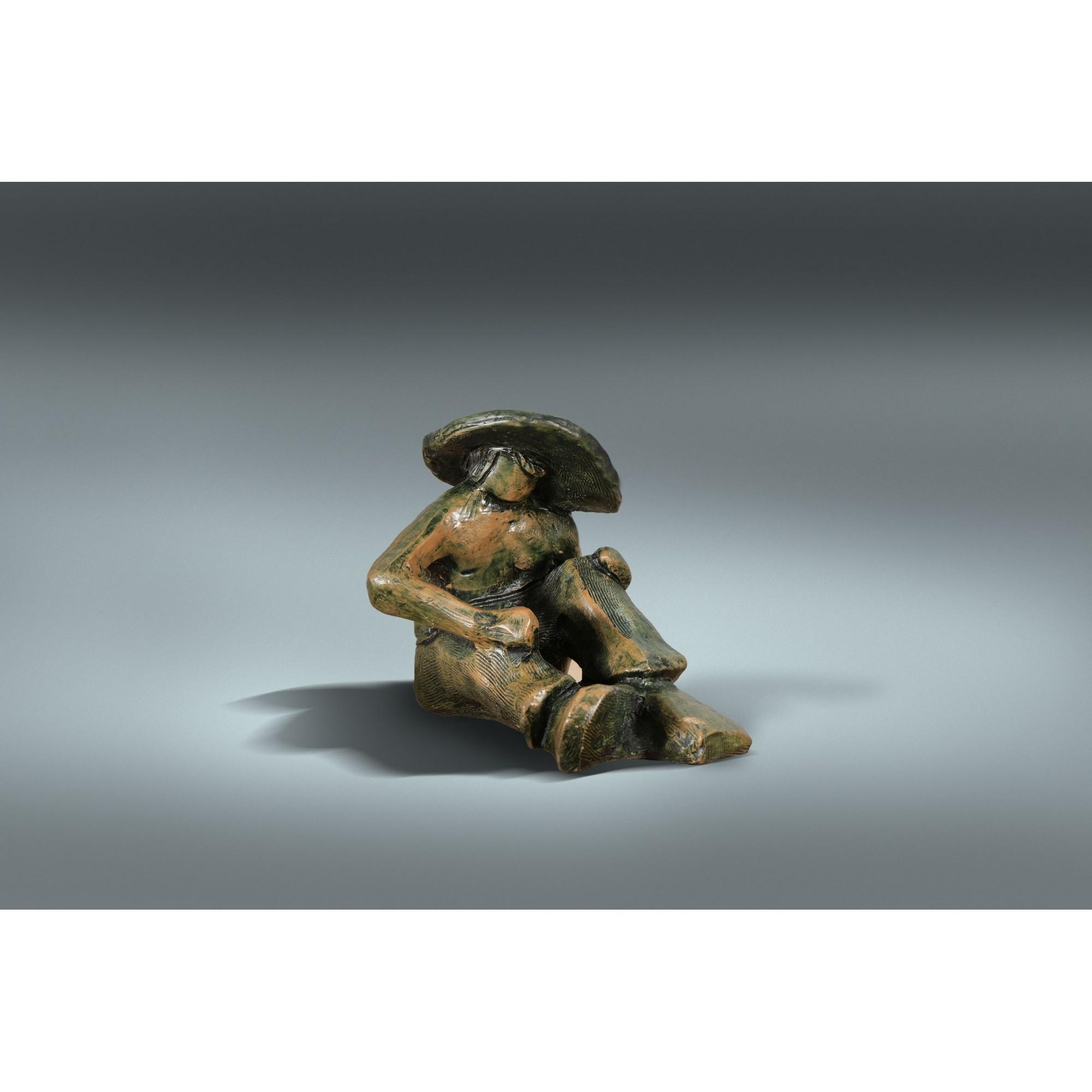 Escultura do Homem Sentado I 36-02