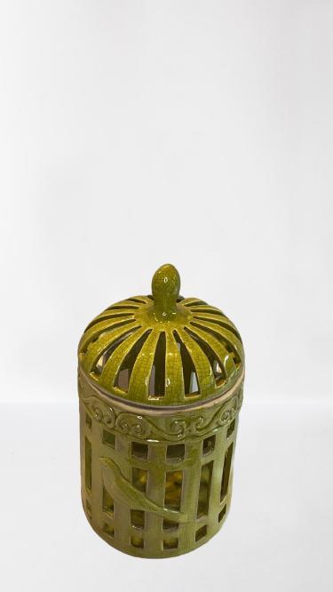 Gaiola Dec De Ceramica  11361la R1781