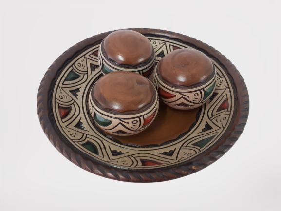 Kit Bolas de Cerâmica C/4 Pçs 01-85