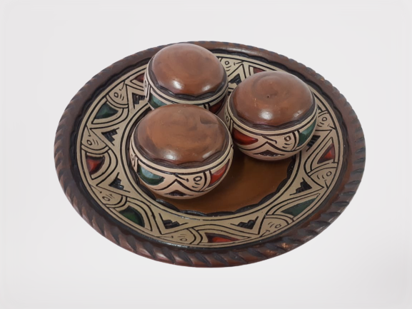 Kit Bolas de Cerâmica C/4 Pçs