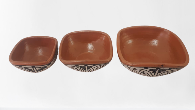 Kit Tigelas De Cerâmica C/3 Pçs