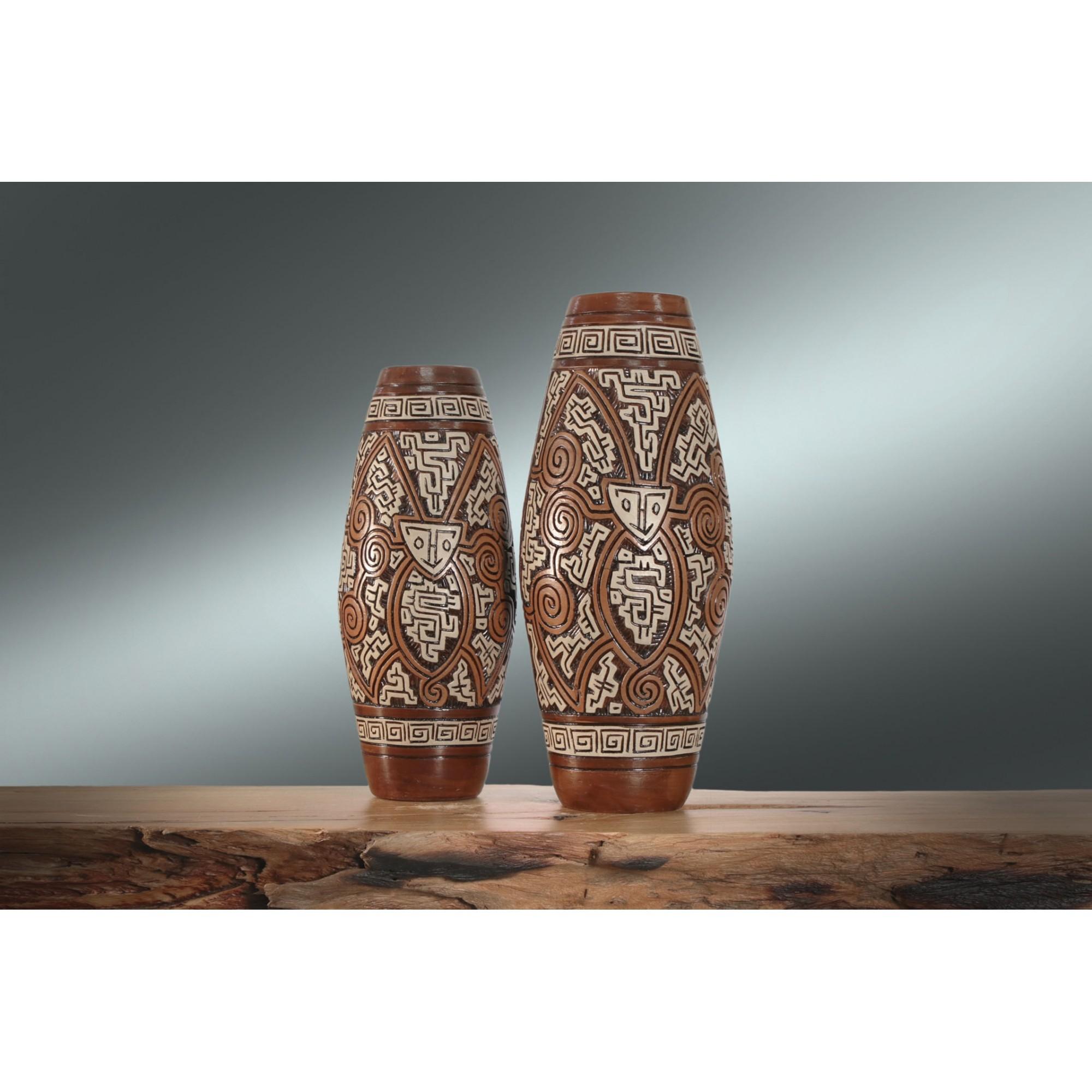 Kit Vaso Cerâmica Marajoara TG