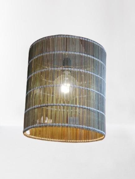 Luminária de Palha Teto I 370-12