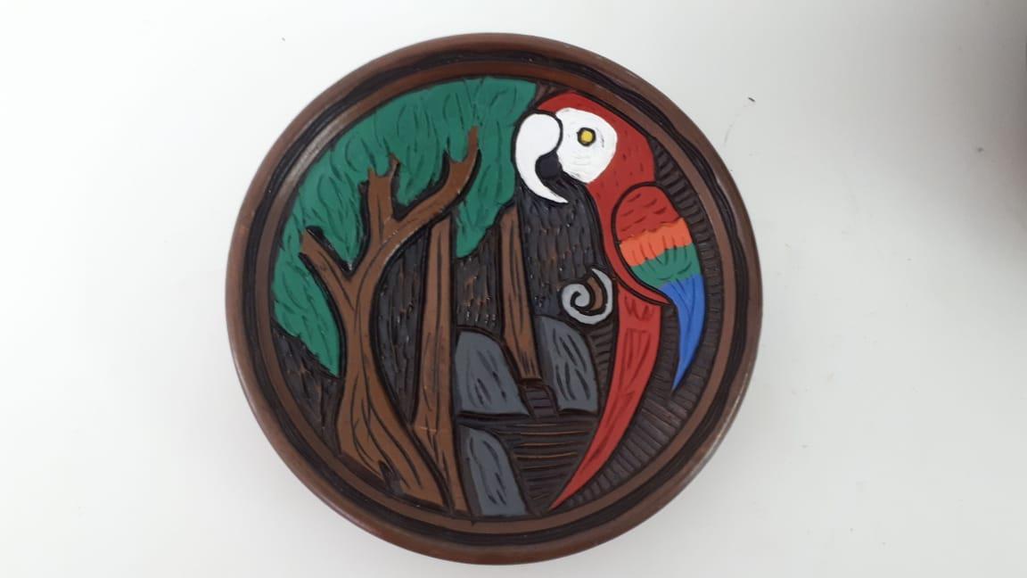 Pratos De Cerâmica de Animais 01-97