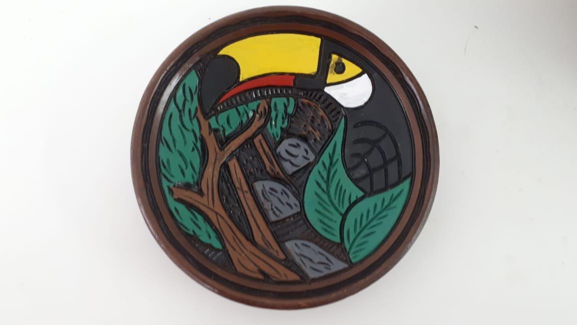 Pratos De Cerâmica de Animais