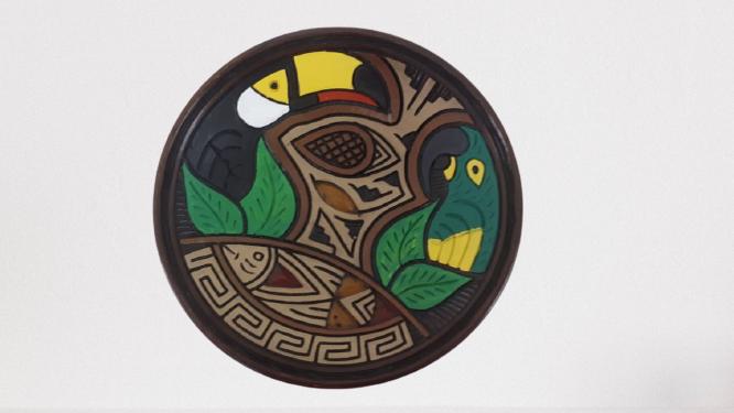Pratos De Cerâmica de Animais M 01-99