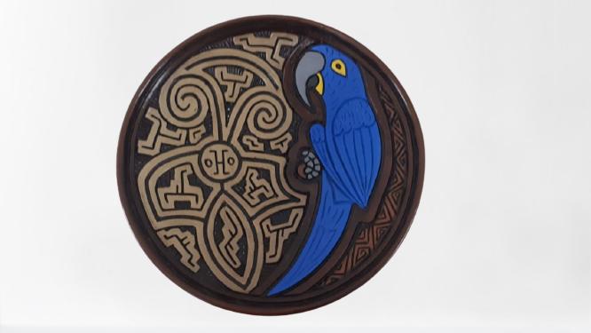 Pratos De Cerâmica de Animais M