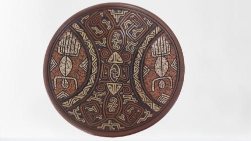 Pratos Largos De Cerâmica 01-95