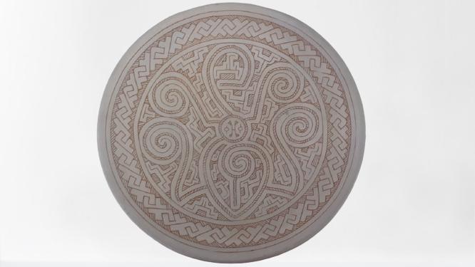 Pratos Largos De Cerâmica Brancos 01-96