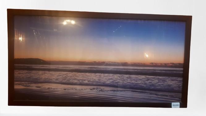Quadro Preto- Vista Mar