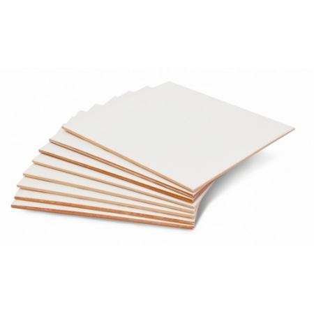 Azulejo de Cerâmica Branco para Sublimação 15x15 cm