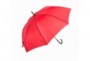 Guarda Chuva Vermelho com Cabo Plástico Preto para Sublimação