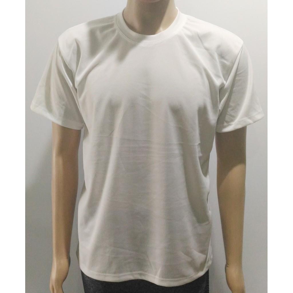 Camiseta de Poliéster para Sublimação Branca