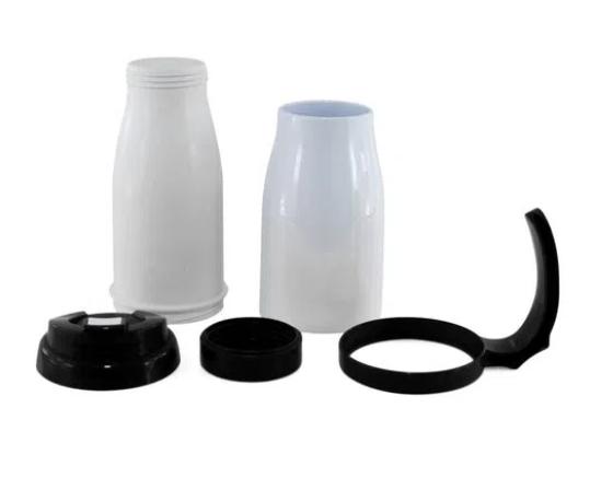 Caneca Copo Térmico Polímero para Sublimação 490 ml Preto