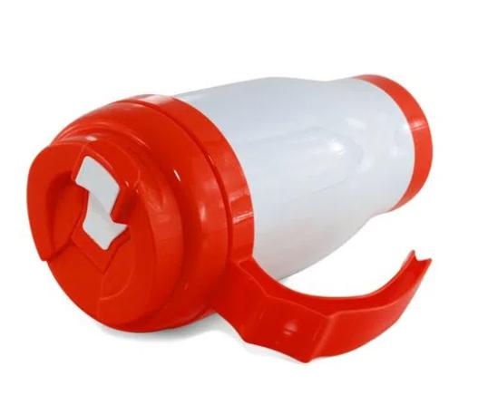 Caneca Copo Térmico Polímero para Sublimação 490 ml Vermelho