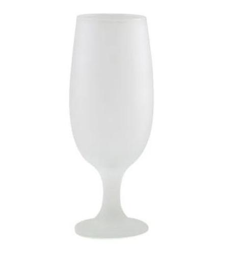 Taça Tulipa Copo Cerveja Sublimação Jateada 300ml
