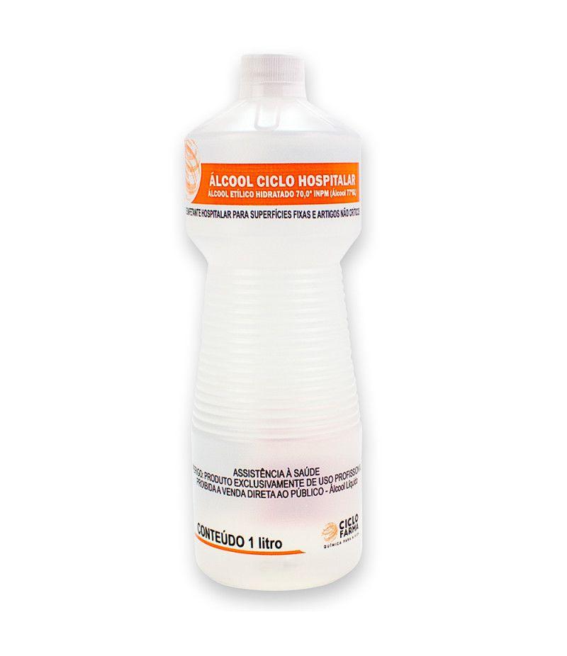 Álcool Etílico 70% - 1000ml