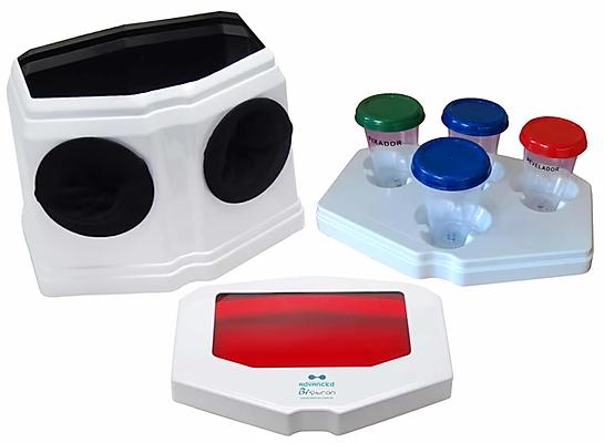 Câmara ADVANCED Revelação Radiográfica Odontológica com Iluminação