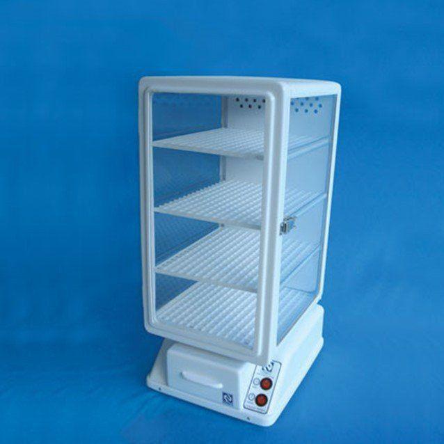Dessecado Dry Box com 4 Prateleiras de Vidro e Circulação de Ar com Aquecimento