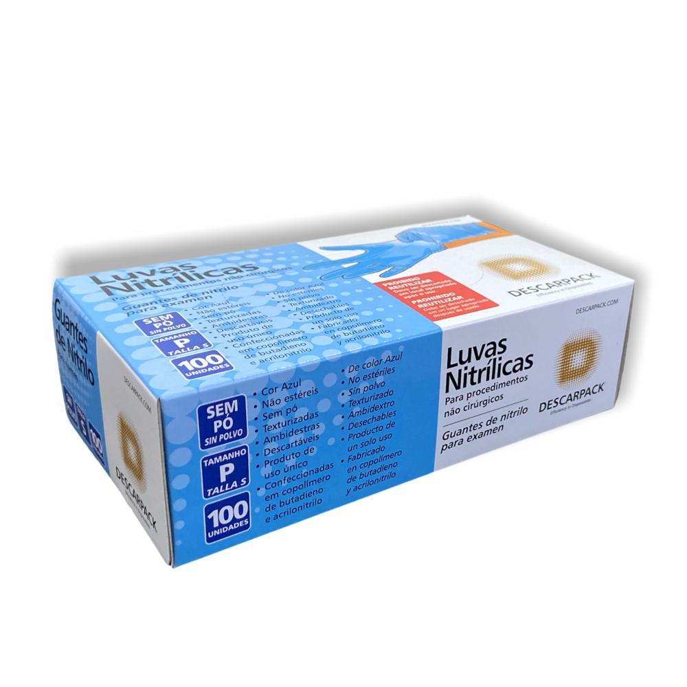 Luva Nitrílica P 100UN - Descarpack
