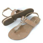Sandalia Rasteira Jamar 011612 Verniz antique
