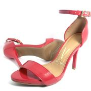 Sandalia Salto Fino Vizzano 6398100 Vermelho
