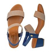 Sandalia Usaflex Y8204 Azul