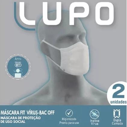 Mascara Lupo 36000-905170090 Preta