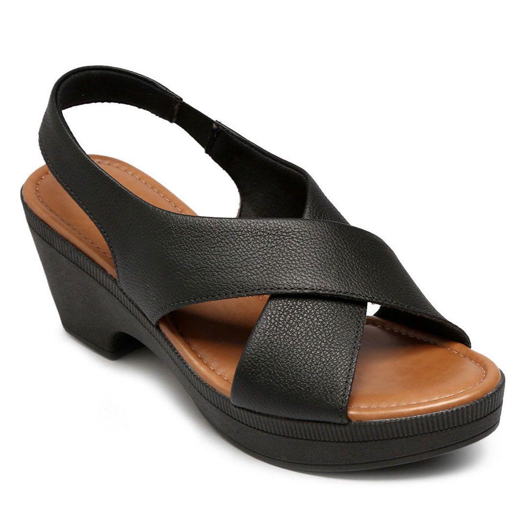 Sandalia Salto Medio Usaflex Aa3401