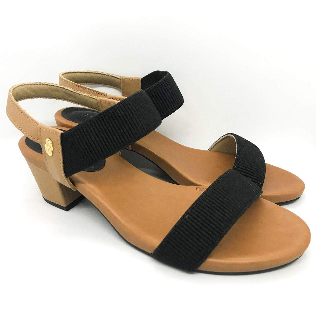 Sandalia Salto Medio Usaflex Y8204