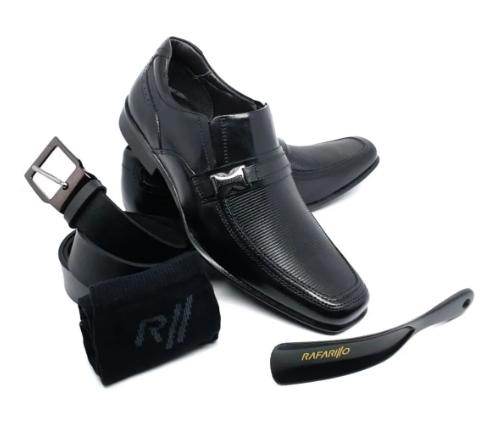 Sapato Kit Rafarillo 45009 Preto