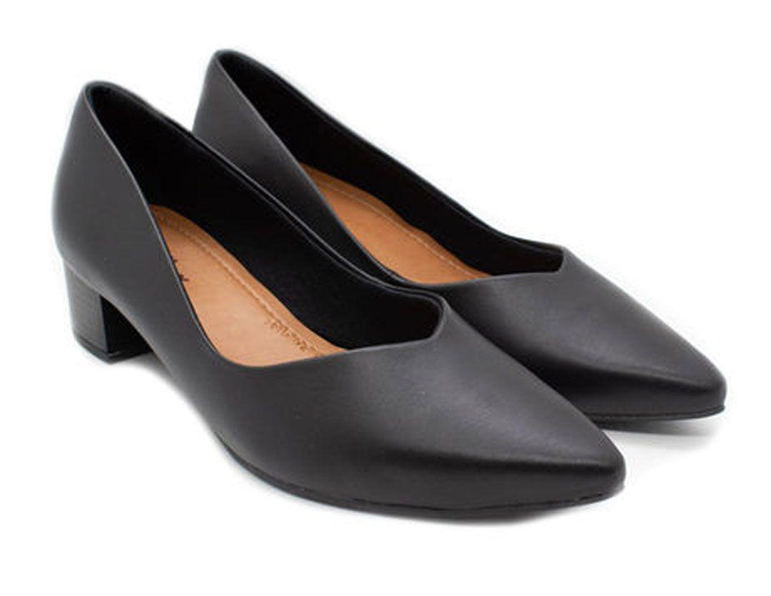 Sapato Usaflex Aa4303 Preto