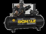 Compressor de Ar 40 Pés 425 Litros com Motor Blindado Trifásico 220/380V - SCHULZ-MSW40