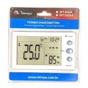 Relógio Termo-Higrômetro Digital MT-242A - Minipa