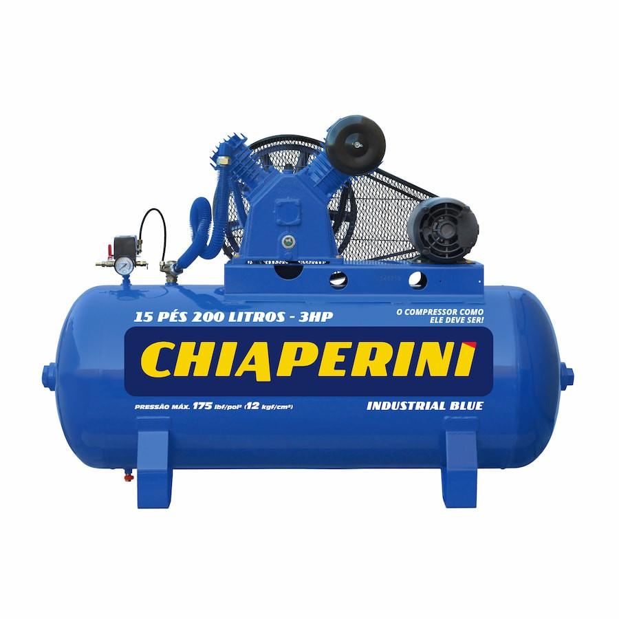 Compressor Blue Mono 175 Psi 15P 200L 3HP CHIAPERINI