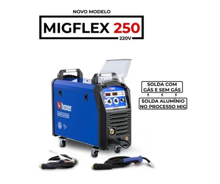 Inversora De Solda 220A - Mig Flex 250 Boxer