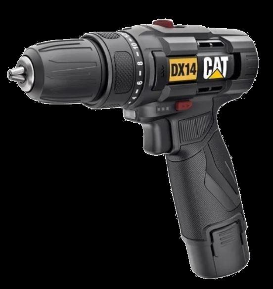 Parafusadeira Furadeira A Bateria 12v Dx14 Cat Caterpillar