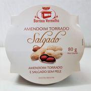 Amendoim Torrado Salgado Sem Pele 80g