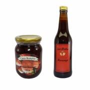 Kit Geleia de Morango Casa Boldrin e Licor Fino de Morango Seu Pedro