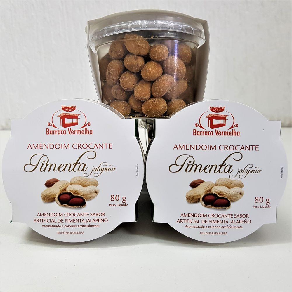 Amendoim Crocante de Pimenta Jalapeño 80g