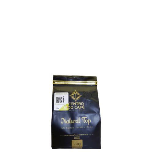 Café Natural Top Torrado e Moído 250 g