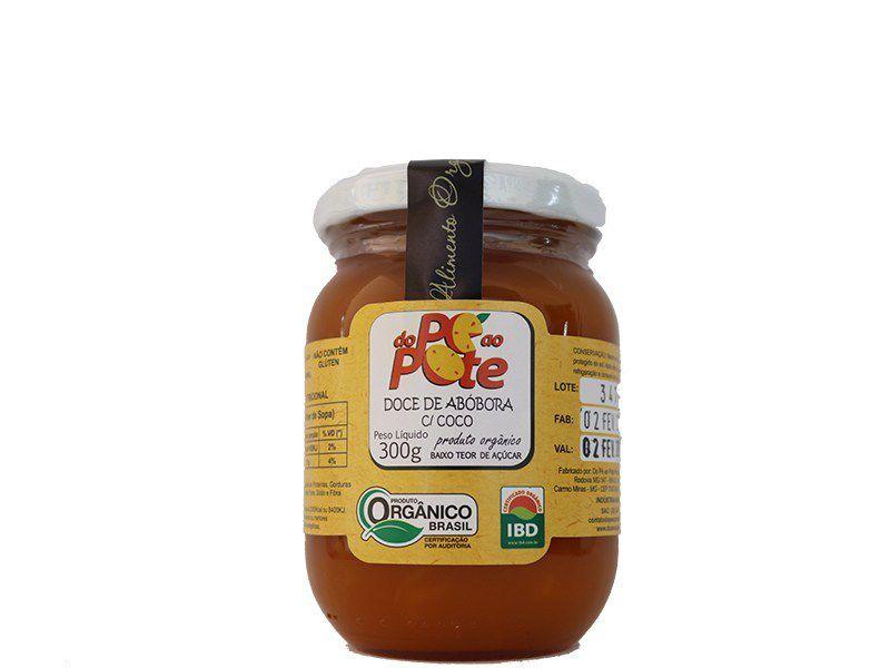 Doce de Abóbora com Coco Orgânico 300 g